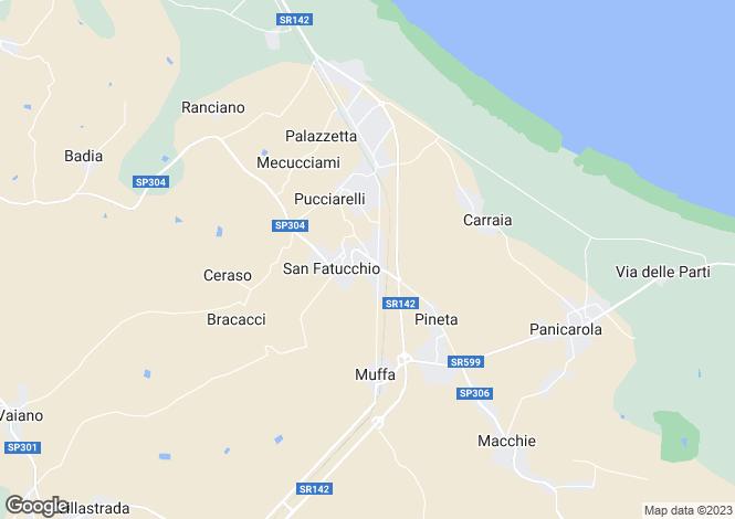 Map for Via del Giglio, Castiglione del Lago, Umbria