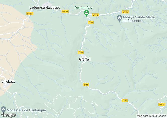 Map for Proche/Near Carcassonne, Aude