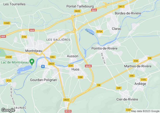 Map for ausson, Haute-Garonne, France