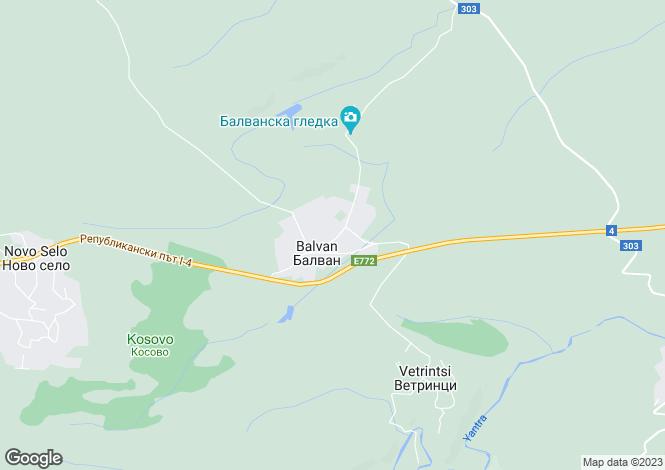 Map for Balvan, Veliko Tarnovo
