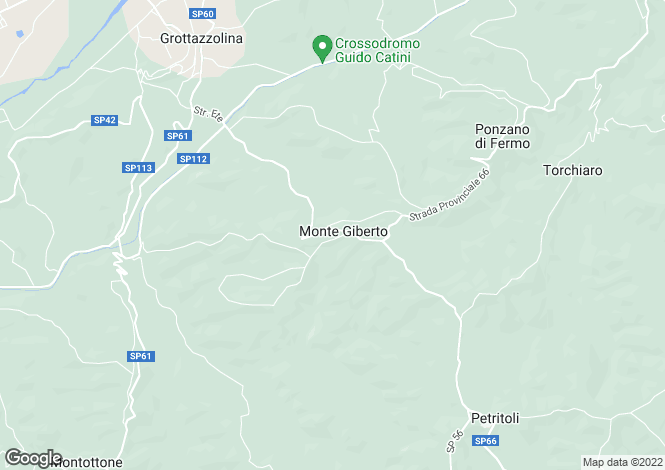 Map for Monte Giberto, Fermo, Le Marche