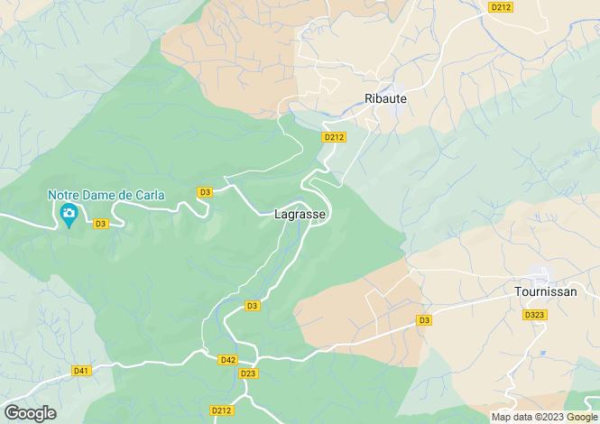Map for Secteur: Lagrasse, Aude