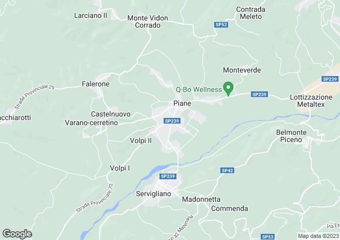 Map for Le Marche, Fermo, Falerone
