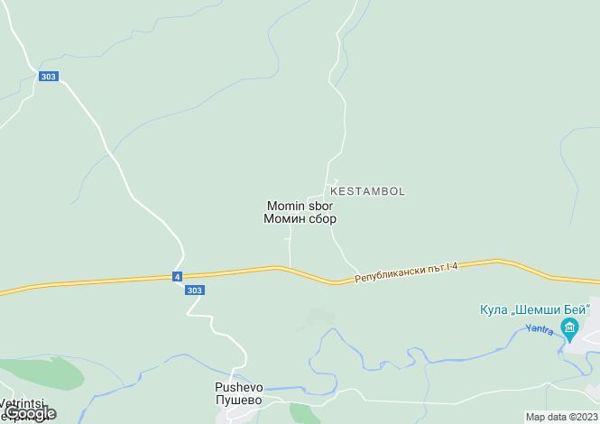 Map for Momin Sbor, Veliko Tarnovo