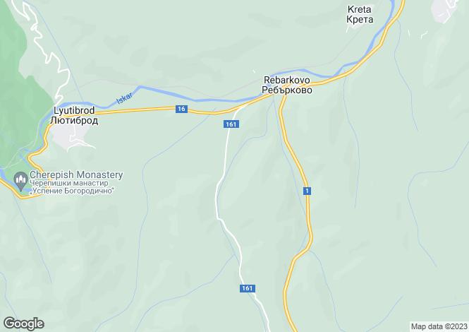 Map for Reburkovo, Vratsa
