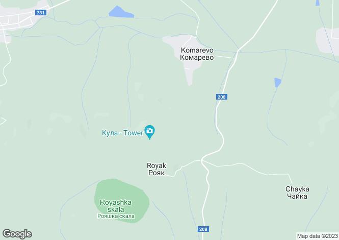 Map for Dulgopol, Varna