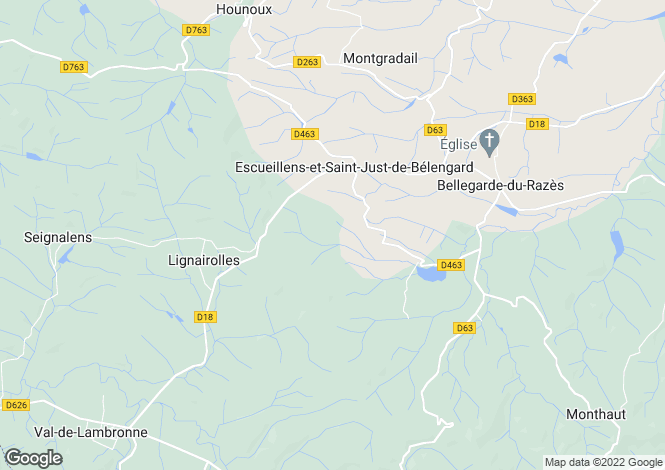 Map for Agence de Limoux