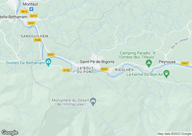 Map for st-pe-de-bigorre, Hautes-Pyrénées, France