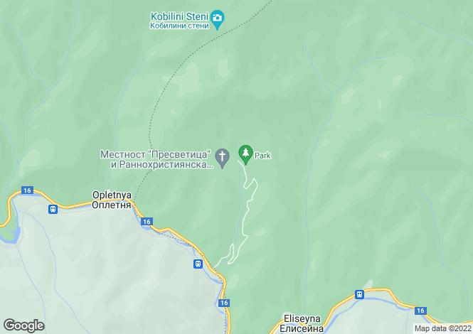 Map for Mezdra, Vratsa