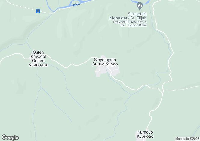 Map for Roman, Vratsa