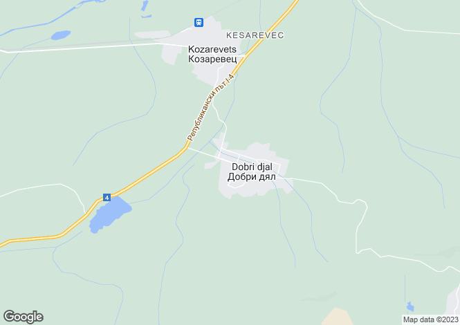Map for Lyaskovets, Veliko Tarnovo