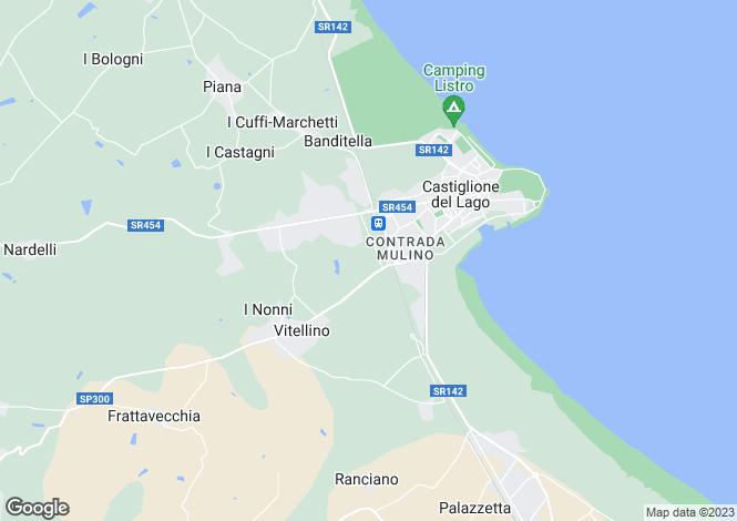 Map for Cave Canem, Castiglione Del Lago, Umbria