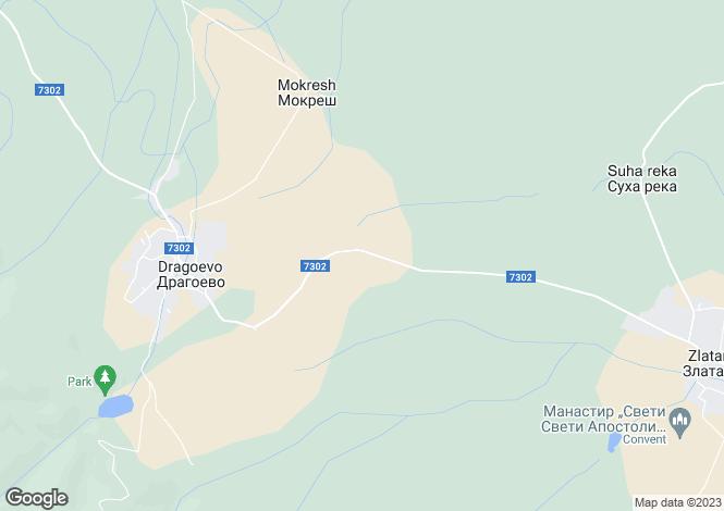 Map for Smyadovo, Shumen