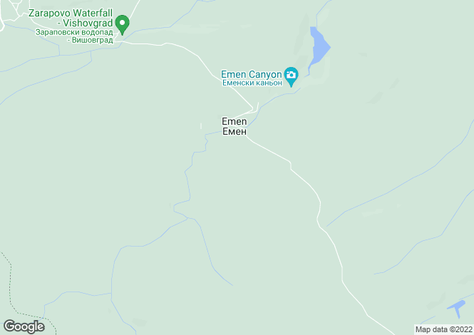 Map for Veliko Tarnovo, Vishovgrad