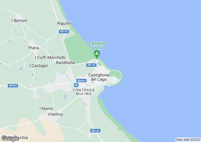 Map for Viale dello Sport, Castiglione del Lago, Umbria