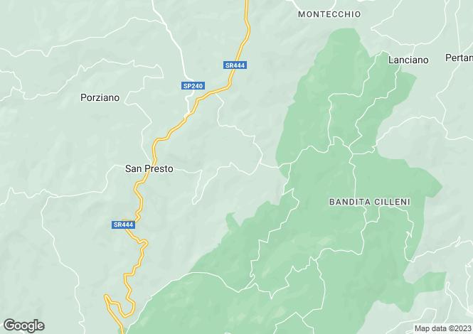 Map for Umbria, Perugia, Assisi