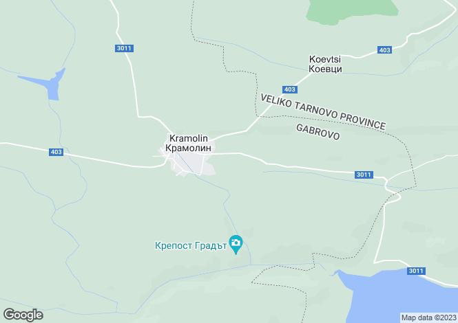 Map for Kramolin, Gabrovo