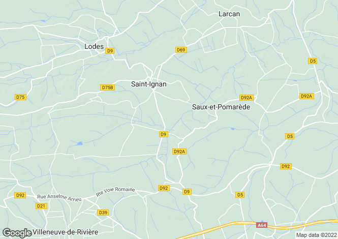 Map for st-ignan, Haute-Garonne, France