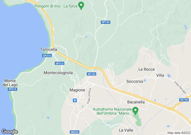 Map for Prato di Sotto, Pierantonio/Umbertide, Umbria, Italy
