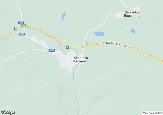 Map for Veliko Tarnovo, Strazhitsa