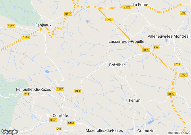 Map for Haute Vallée de l'Aude