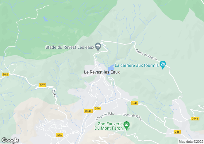 Map for Le Revest-Les-Eaux, Var, 83200, France