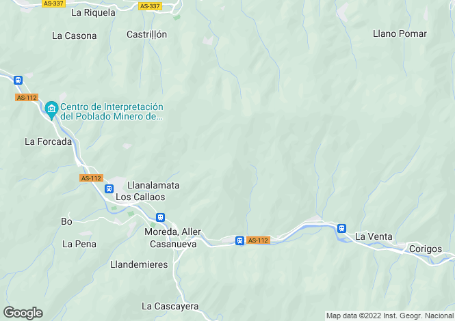 Map for Moreda