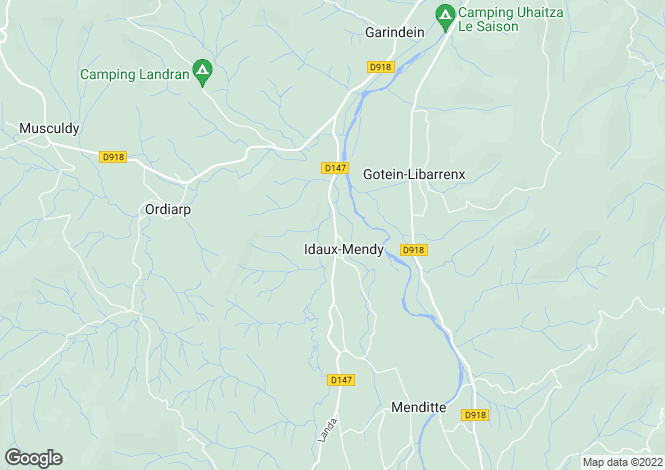 Map for IDAUX MENDY, 64130, France