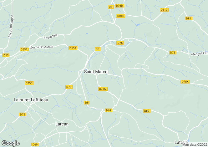 Map for st-marcet, Haute-Garonne, France
