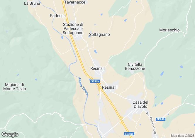 Map for Casanova, Perugia, Umbria, Italy