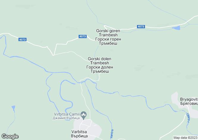 Map for Veliko Tarnovo, Draganovo