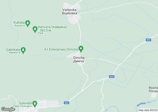Map for Sukhindol, Veliko Tarnovo