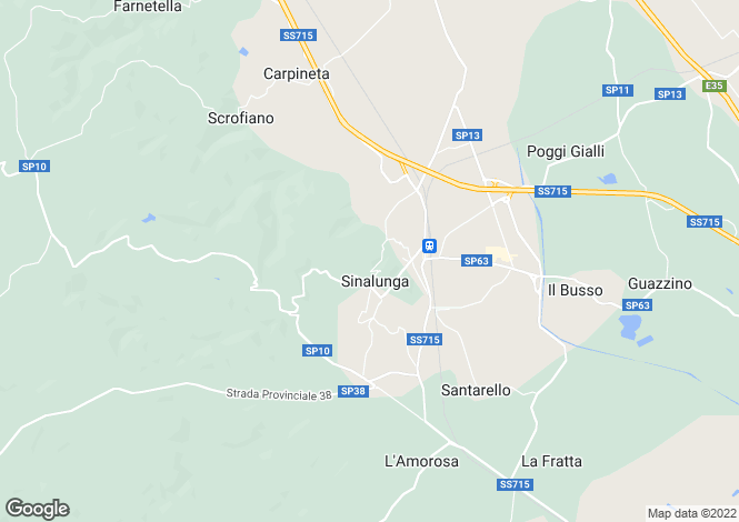 Map for La Torretta, Sinalunga, Siena