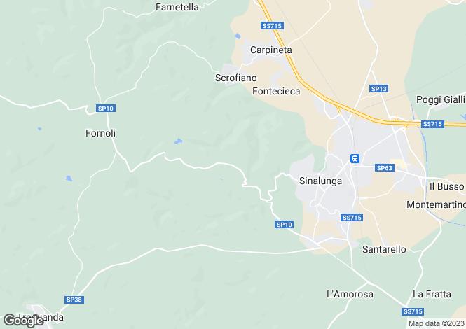 Map for Strada Provinciale Lauretana, Sinalunga, Tuscany