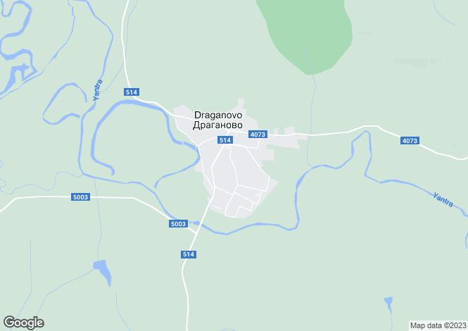 Map for Draganovo, Veliko Tarnovo