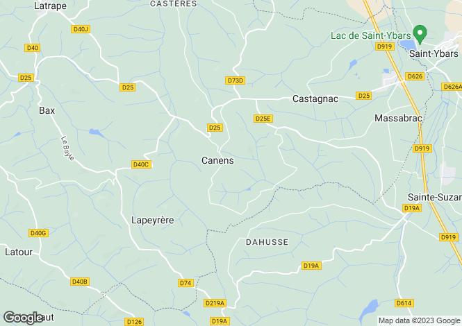 Map for canens, Haute-Garonne, France