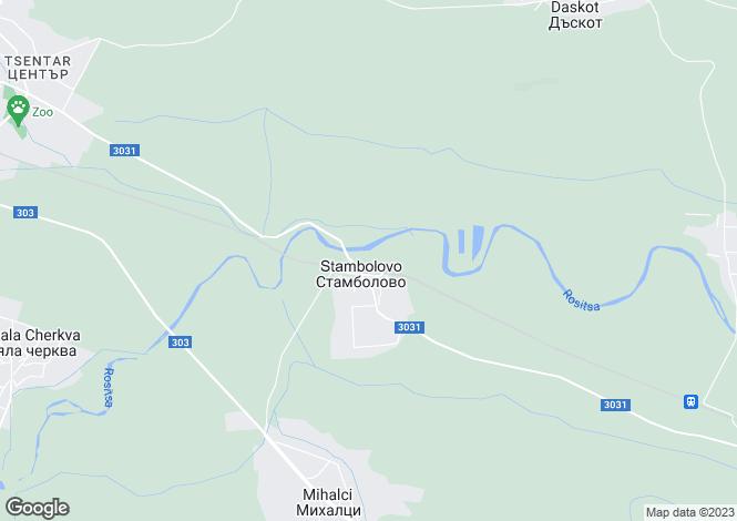 Map for Pavlikeni, Veliko Tarnovo