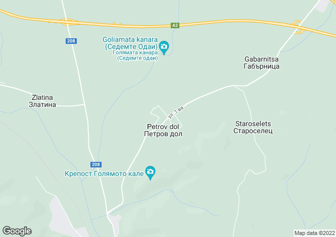 Map for Varna, Provadiya