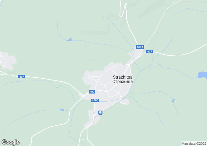 Map for Strazhitsa, Veliko Tarnovo
