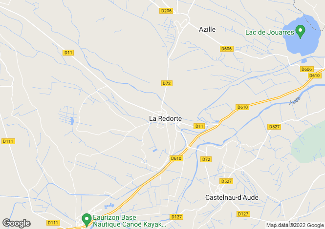Map for La Redorte, Aude, Languedoc-Roussillon