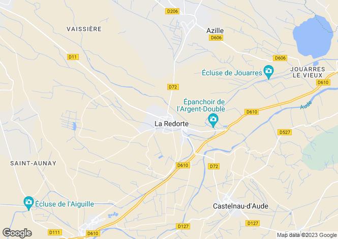 Map for La Redorte, Aude, Languedoc-Roussillon
