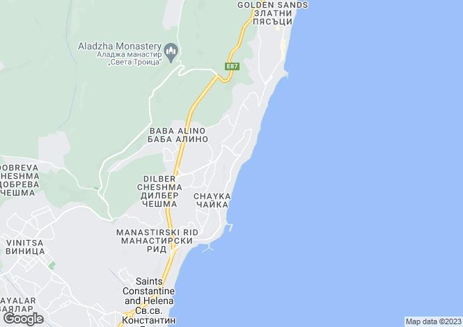 Map for Varna, Varna
