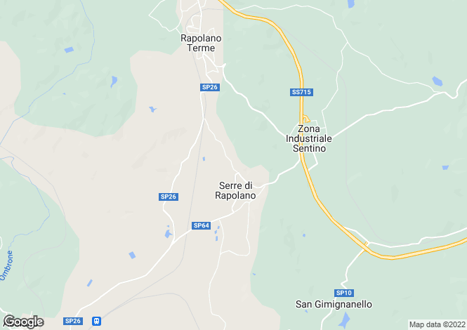 Map for Str. Eugenio Montale, Rapolano Terme, Tuscany