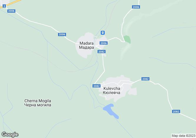Map for Madara, Shumen