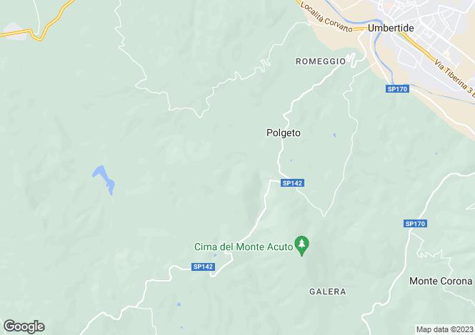 Map for Perugia, Perugia, Italy