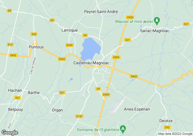 Map for Trie-Sur-Baise, Midi-Pyrenees, 65220, France