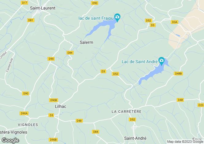 Map for Salerm, Haute-Garonne, Midi-Pyrénées