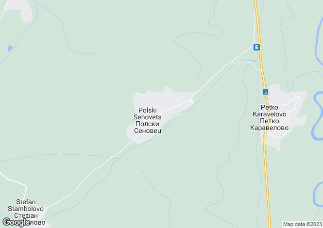 Map for Polski Senovets, Veliko Tarnovo