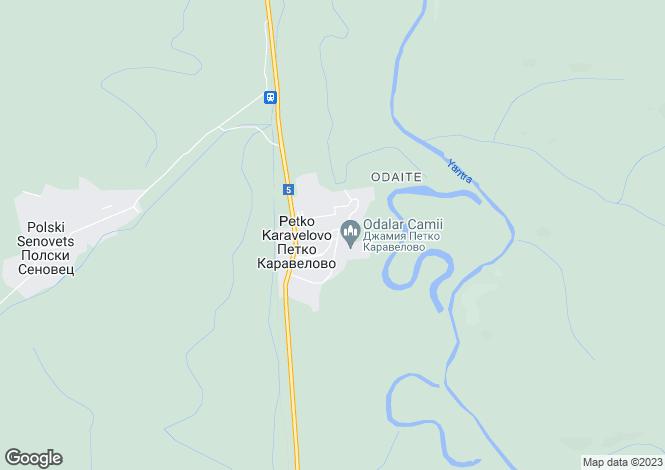 Map for Petko Karavelovo, Veliko Tarnovo