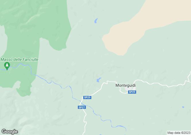 Map for Tuscany, Siena, Monteguidi